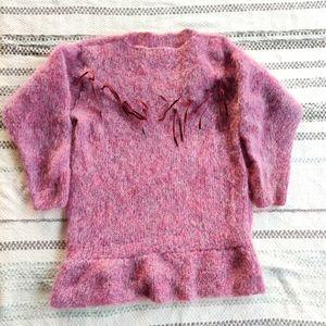 ✨PRICE DROP✨VINTAGE Mauve sweater